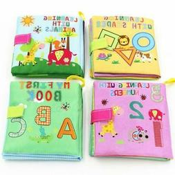 Soft Cloth Books Rustle Sound Baby Toys