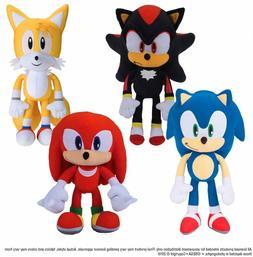Sonic the Hedgehog Plush Doll Stuffed Animal Plushie Soft To