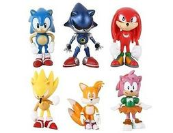 Sonic the Hedgehog Tails Playset 6 Figure Cake Topper * USA