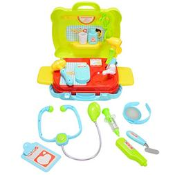 ThinkMax Soomth Plastic Little Treasures Doctor Play Set 19p