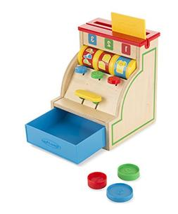 Melissa & Doug Sort & Swipe Cash Register - Wooden Education