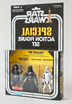 Star Wars Special Action Figure Set Villain Vintage Collecti