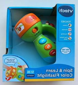 VTech Spin and Learn Color Flashlight - Lime Green - T699