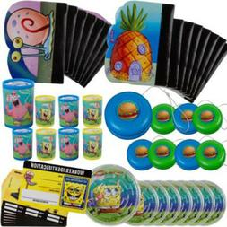 SPONGEBOB SQUAREPANTS FAVOR PACK  ~ Birthday Party Supplies