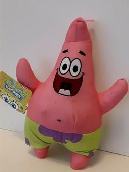 "Spongebob Squarepants  PATRICK STAR 12"" Doll Stuffed  Plush"