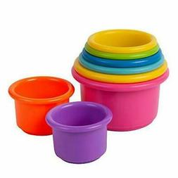 The First Years Stack Up Cup Toys 1 Count, Multi