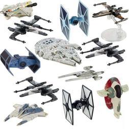 Star Wars  Hot Wheels Spaceship Models Toys Set Figures & St
