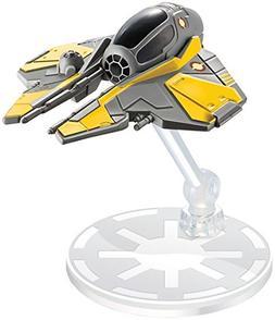 Hot Wheels Star Wars Anakin Skywalker's Jedi Starfighter Veh