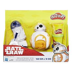 Play-Doh Star Wars BB-8 and R2-D2  - NEW IN BOX!!