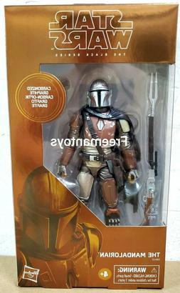 "HASBRO STAR WARS BLACK SERIES 6"" inch CARBONIZED THE MANDALO"
