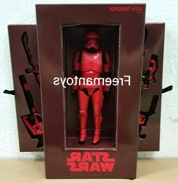 "HASBRO STAR WARS BLACK SERIES 6"" inch SITH TROOPER SDCC 2019"