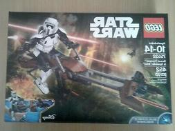 LEGO Star Wars Buildable Figure SCOUT TROOPER AND SPEEDER BI