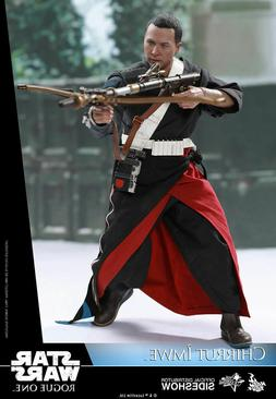 """HOT TOYS STAR WARS ROGUE ONE CHIRRUT IMWE DELUXE 12"""" 1/6 FIG"""