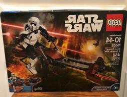 Lego Star Wars Scout Trooper And Speeder Bike-75532