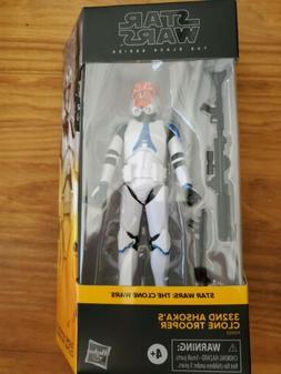 Star Wars The Black Series 332nd Ahsoka's Clone In Hand! W
