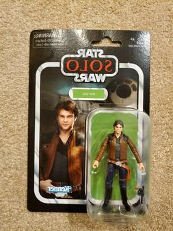 HASBRO STAR WARS VINTAGE COLLECTION VC124 YOUNG HAN SOLO -NE