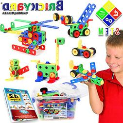 163 Piece STEM Toys Kit   Educational Construction Engineeri