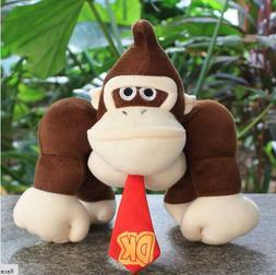 Super Mario Bros. 10 in/25cm Donkey Kong Plush <font><b>Toy<