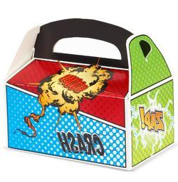 Superhero Comics Party Supplies - Empty Favor Boxes