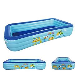 Transer Kids Baby Boys Girls Swimming Pool, Inflatable Toddl