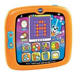 Tablet Baby Teach Touch Tablet Orange Toy Toddler Kids Fun P