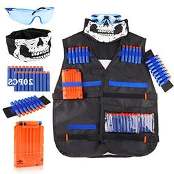UWANTME Tactical Vest Kit for Nerf Guns N-Strike Elite Serie