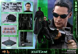 Hot Toys The Matrix NEO Keanu Reeves Movie Masterpiece 1/6th