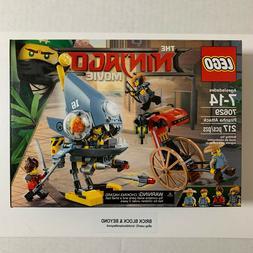 LEGO The Ninjago Movie 70629 Piranha Attack New Sealed