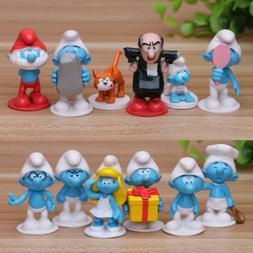 The Smurfs The Lost Village Papa Cat Gargamel 12 PCS Action