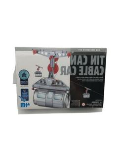 4M Tin Can Cable Car Fun Merchanics Kit Factory Sealed NIB B