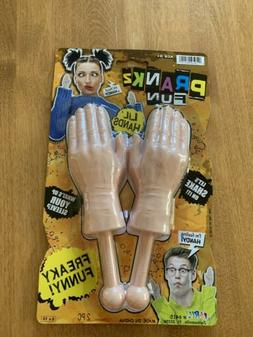 Tiny Hands Funny Prank Little Tricks Sleeves Toy Party Novel