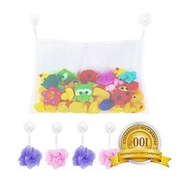 Baby Toddler Bath Mesh Tub Toys Organizer Storage Caddy-Wash