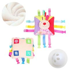 Toddler Early Learning Basic Plush Life Skills Toy Kid's P
