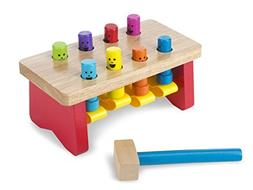Melissa & Doug Deluxe Pounding Bench + Deluxe Latches Board