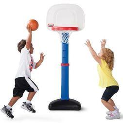 Little Tikes TotSports Easy Score Toy Basketball Set, Blue