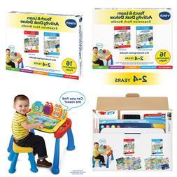 Vtech Touch & Learn Activity Desk Deluxe 2 In 1 Preschool Bu