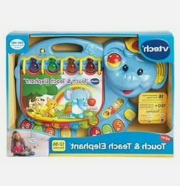 VTech Touch And Teach Elephant Book Kids Electronic Learning
