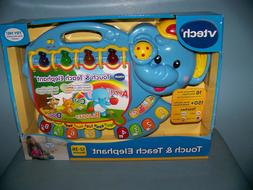 VTech Touch and Teach Elephant Toy NEW