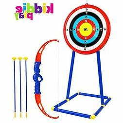Toy Archery Set For Kids W Target Bow & Arrow Toys Age 5 6 7