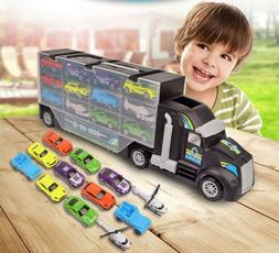 Toy Car Carrier Transport Trucks Set Play Vehicle Gift for K