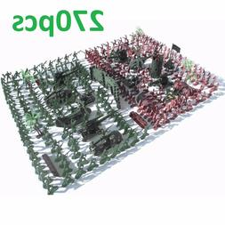 Toy Military Soldier Army Men Plastic Figure Model Play Set