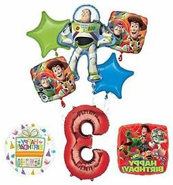Toy Story 3rd Birthday Party Supplies and Balloon Bouquet De