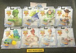 Hot Wheels Toy Story 4 - Character Cars - Pick your CAR - Ma