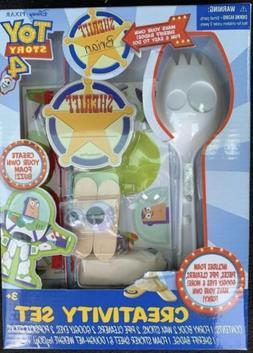 Toy Story 4 Creativity Set New Disney Pixar  Forky & Buzz Wi