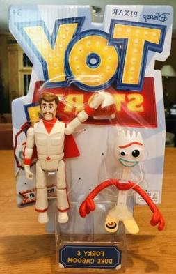 "Toy Story 4 - Duke Caboom & Forky 2 Pack 6"" Figure Set BRAND"