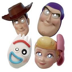 TOY STORY 4 PAPER MASKS  ~ Birthday Party Supplies Favors Pr