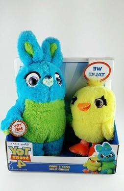 Disney Pixar Toy Story 4 Talking *Bunny And Ducky* Plush, Ne