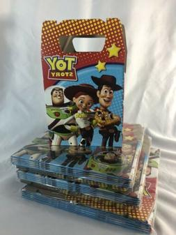 Toy Story Favor Treat Box *10Ct* Loot Goody Candy Bags Party