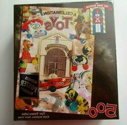 Buffalo Games Toy Town Museum Celebration Of Toys 500 Piece