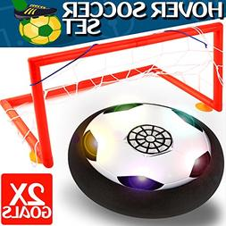 Kids Toys - Hover Soccer Ball Set with 2 Goal, Toy for Boys